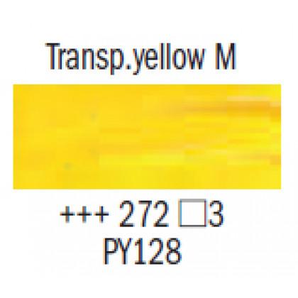 """Масл.краска """"Rembrandt"""" прозрачный желтый средний"""
