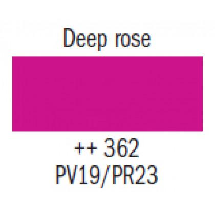 Гуашь худ. розовая темная