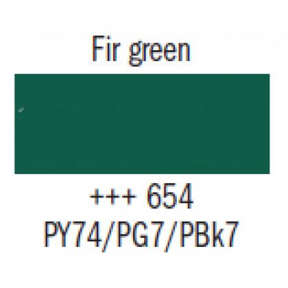 Гуашь худ. зелёная пихта