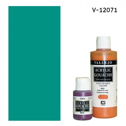 Гуашь-темпера Vallejo/Зеленая виридоновая