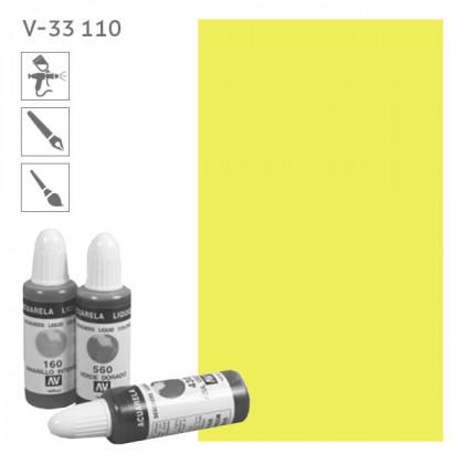 Acuarela Liquida 110  Лимонно-желтый