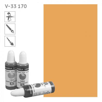Acuarela Liquida 170  Оранжевый светлый